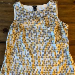 Ann Taylor shell sleeveless